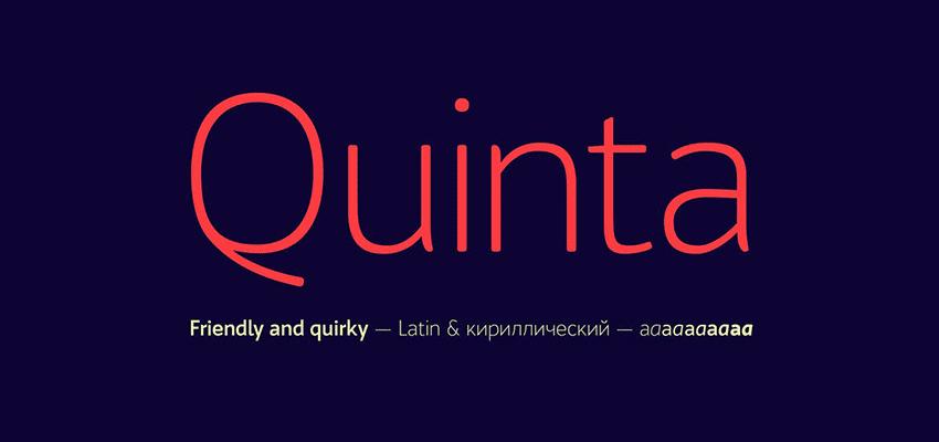 Example of Quinta