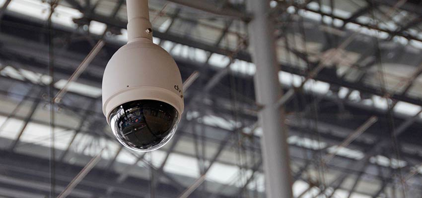 A security camera.