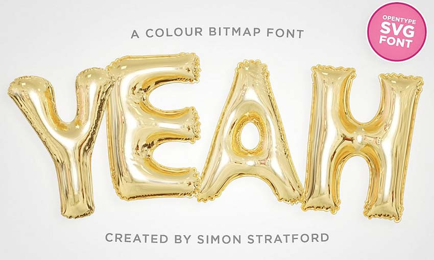 Example of Yeah by Simon Stratford