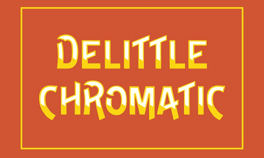Example of DeLittle Chromatic by Wood Type Revival