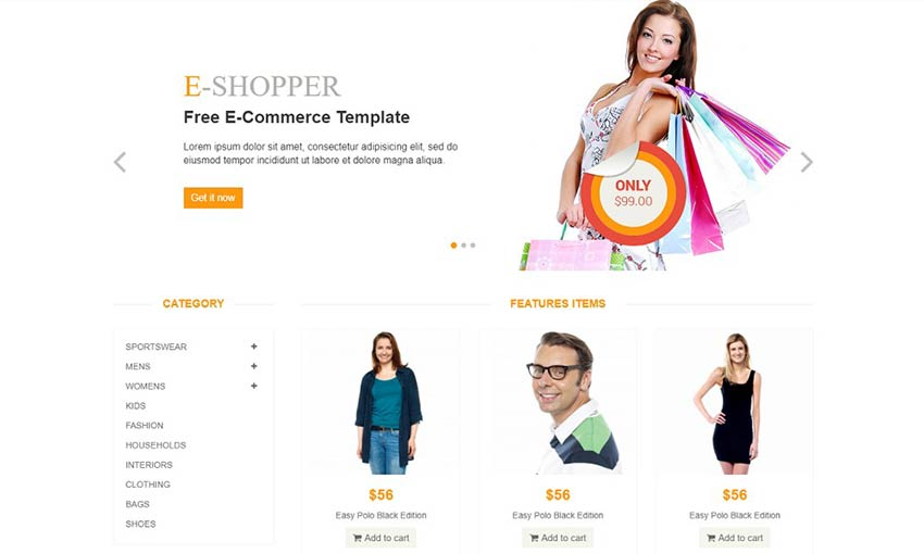 Example of eShopper