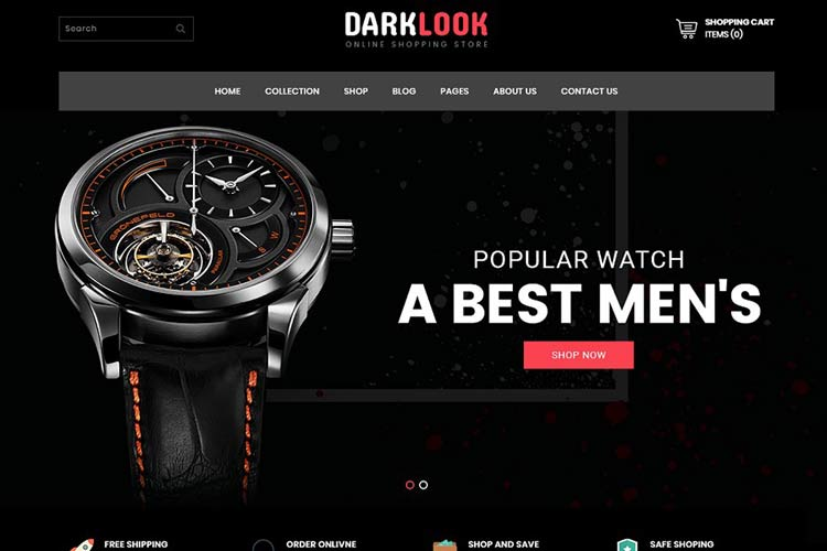 Free Website Templates for Online Stores