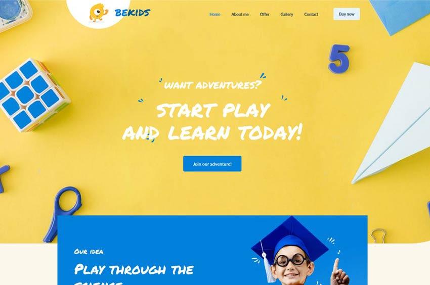 BeKids WordPress Theme