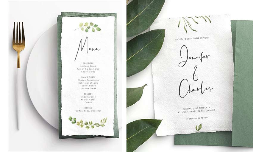 Ejemplo de Lemon Grass Script por Mellow Design Lab
