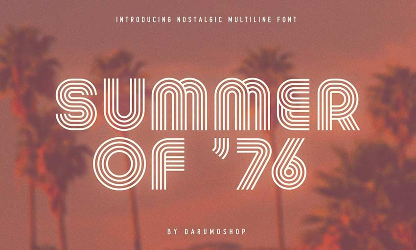 Example of Summer of 76 by Darumo Shop
