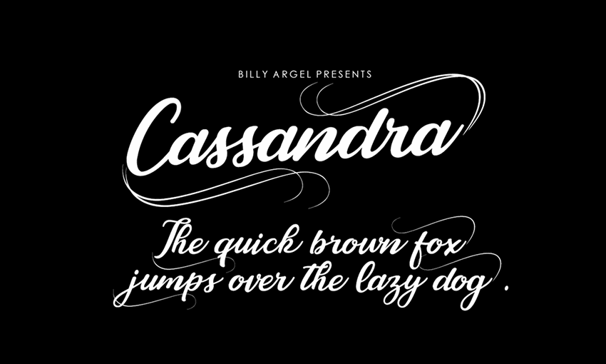 Example of Cassandra Personal Use by Billy Argel