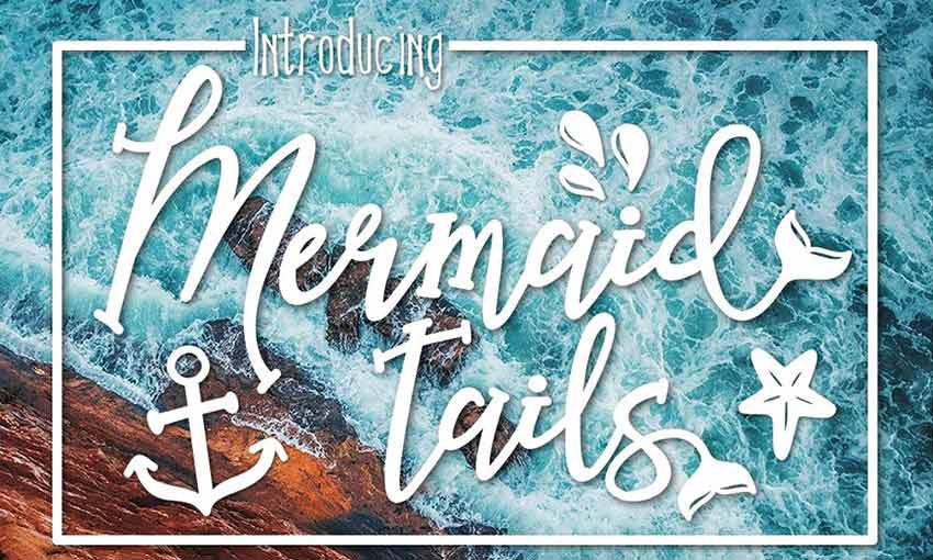 Example of Mermaid Tails by Kitaleigh