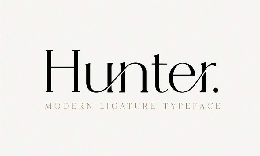 Example of Hunter by New Tropical Design
