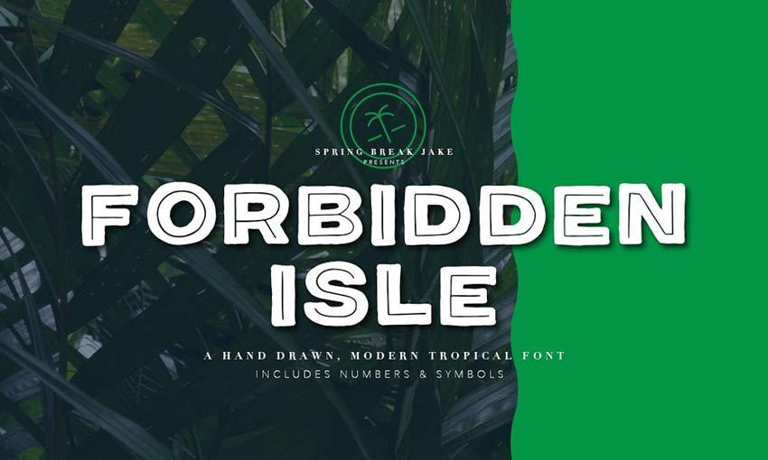 Example of Forbidden Isle by Spring Break Jake