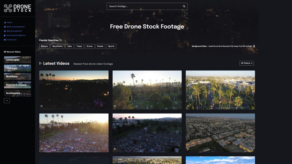 DroneStock - Free Drone Stock Videos