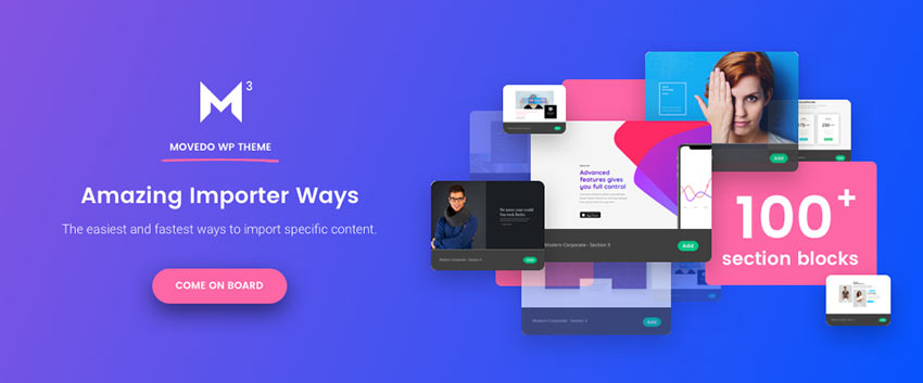 Movedo WordPress Theme