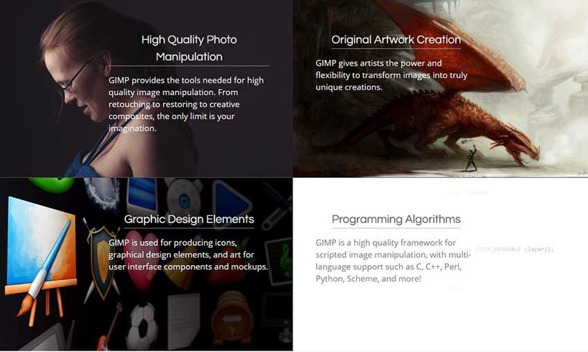 Ejemplo de GIMP
