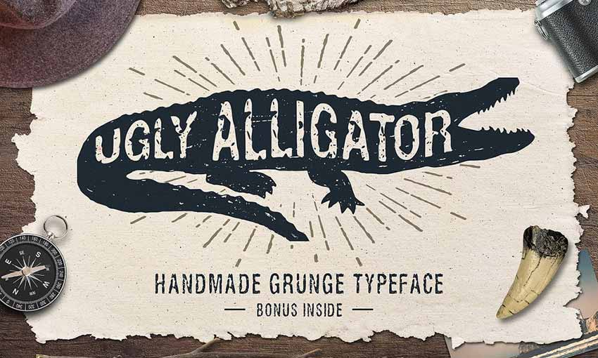Example of Ugly Alligator by Cosmic Store