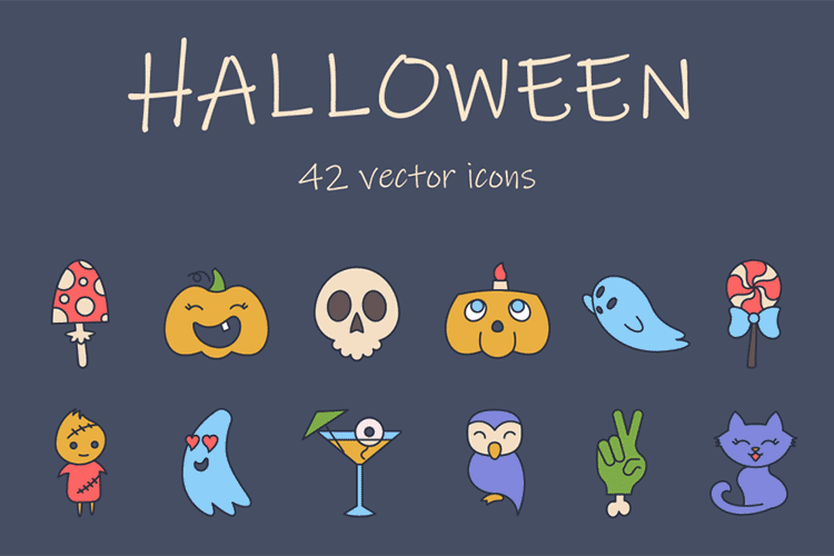 Fall Freebie: Downloadable Halloween Icons and Graphics