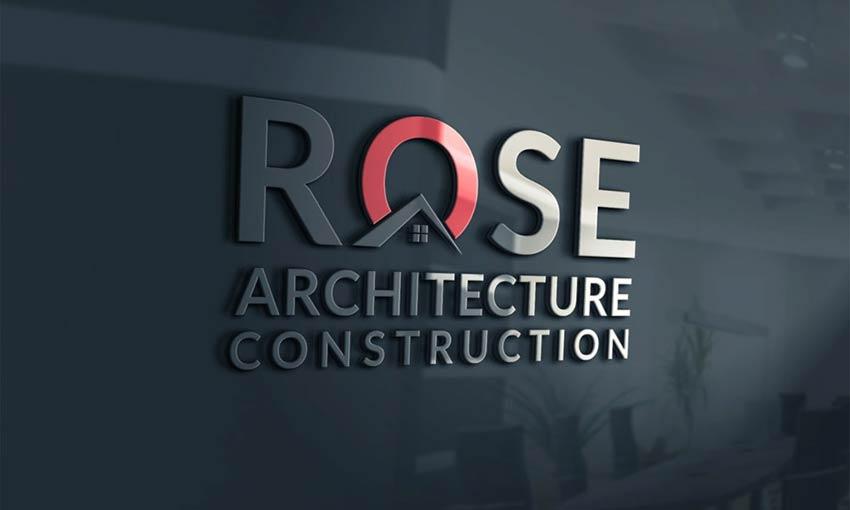 Example of Architecture Logo (10 Free Logo Mockup) by Shahanuz Zaman