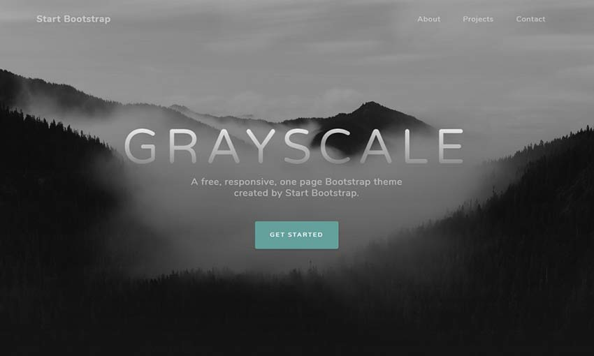 Example of Grayscale