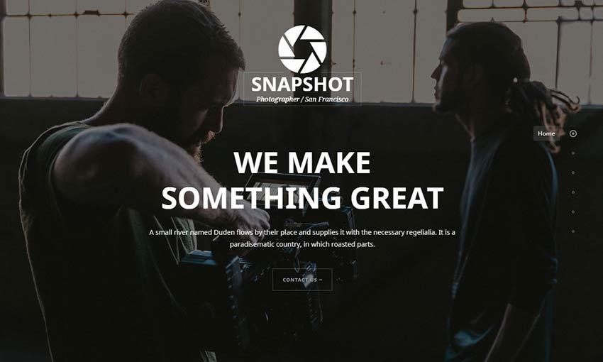 Example of Snapshot