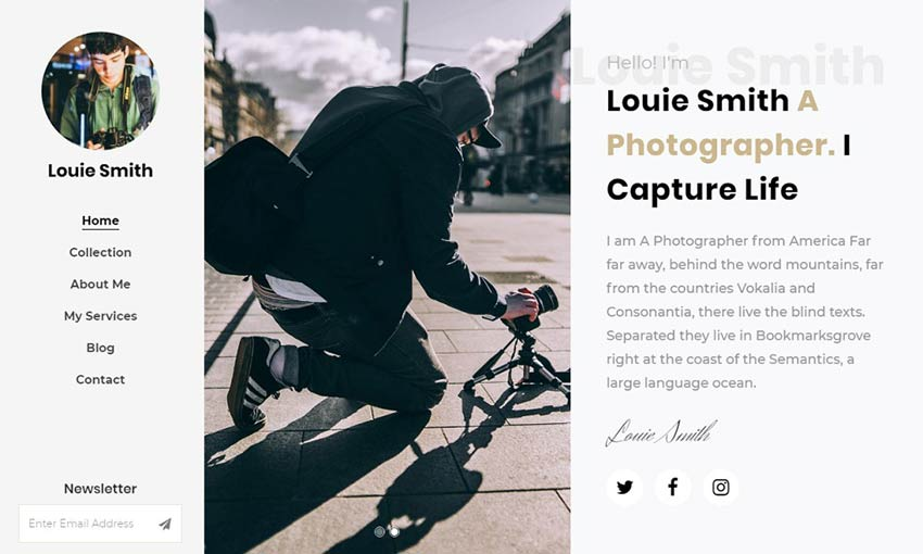 Example of Louie