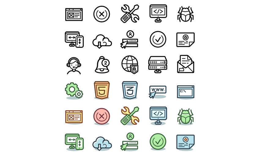 Example of Capitalist Icons – Free Sample