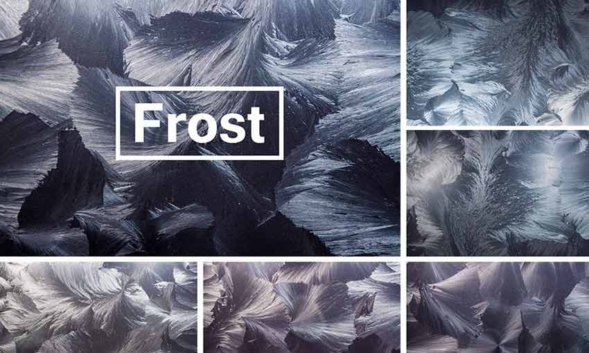 Example of Arctic Frost Textures