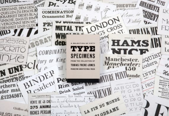 Fifty Type Specimens - Gifts For Designers - 1st Web Designer