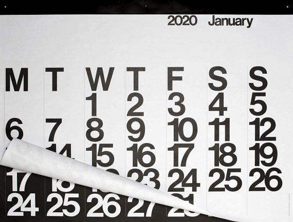 Stendig Wall calendar - Gifts For Designers - 1st Web Designer