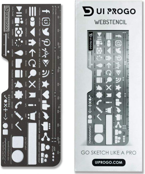 UI Progo Stencils - Gifts For Designers - 1st Web Designer