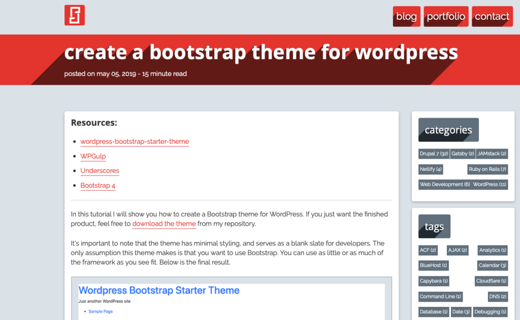 Foundation or Bootstrap - Bootstrap Starter