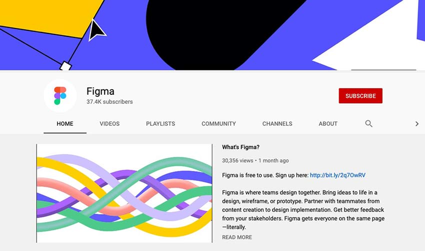 Example from Figma's YouTube Channel