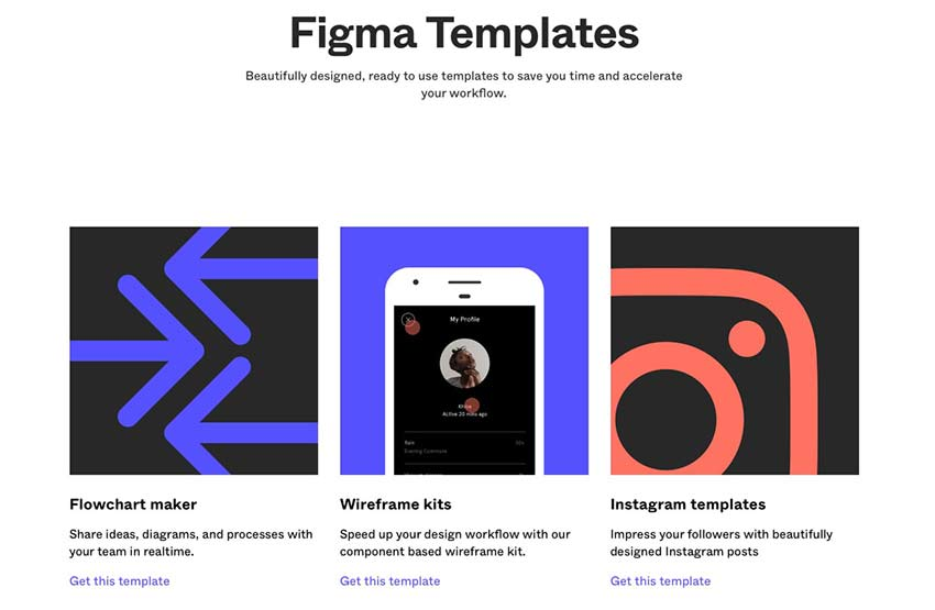 Example from Figma Templates