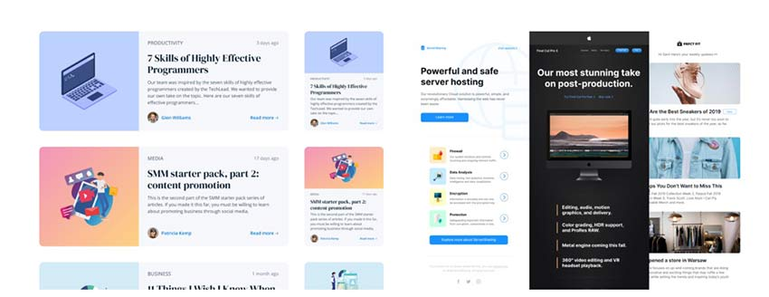 Example from Free Figma UI Kits, Templates, & Design Systems