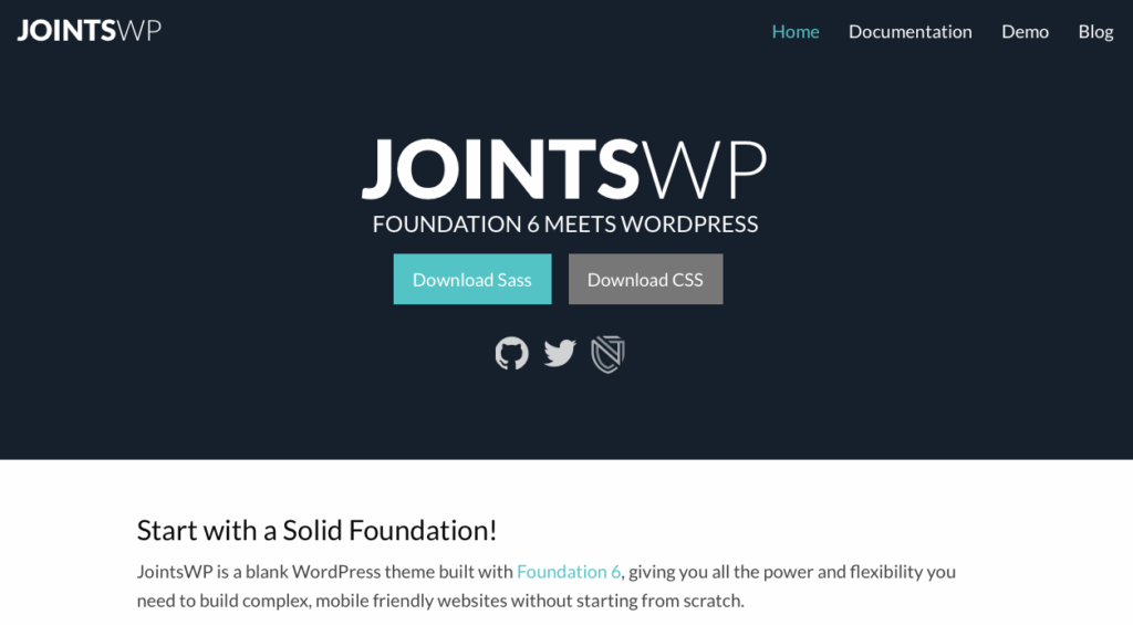 Foundation or Bootstrap - JointsWP