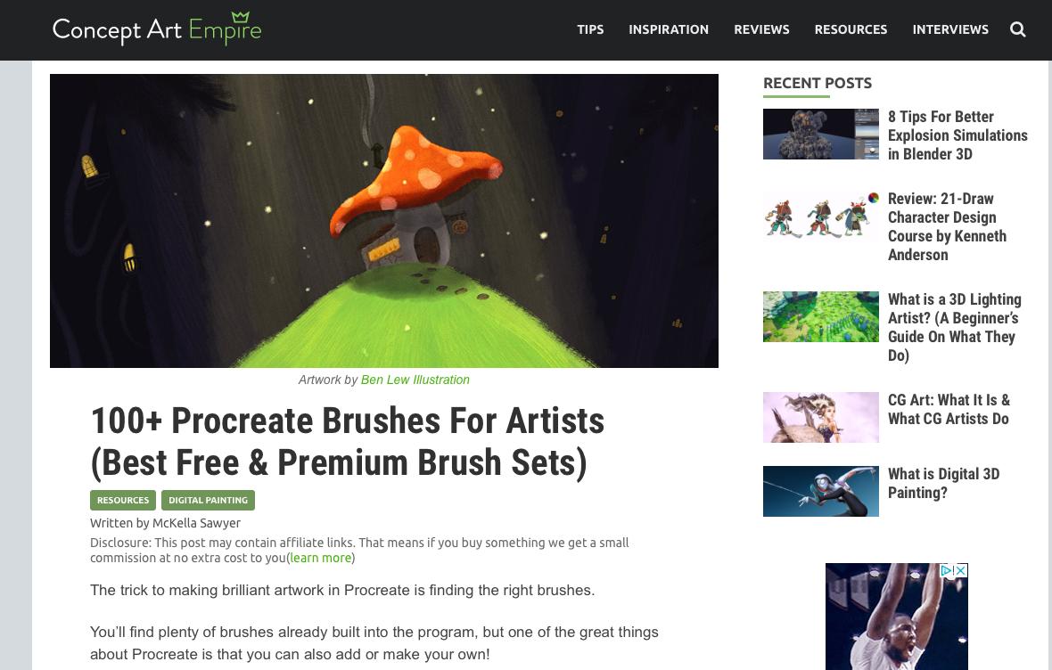 Procreate Brushes - 100+