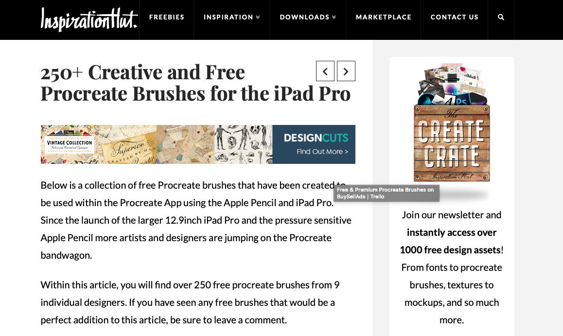 Procreate Brushes - Creative