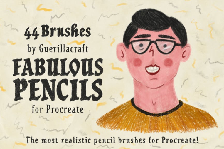 Procreate Brushes - Pencils