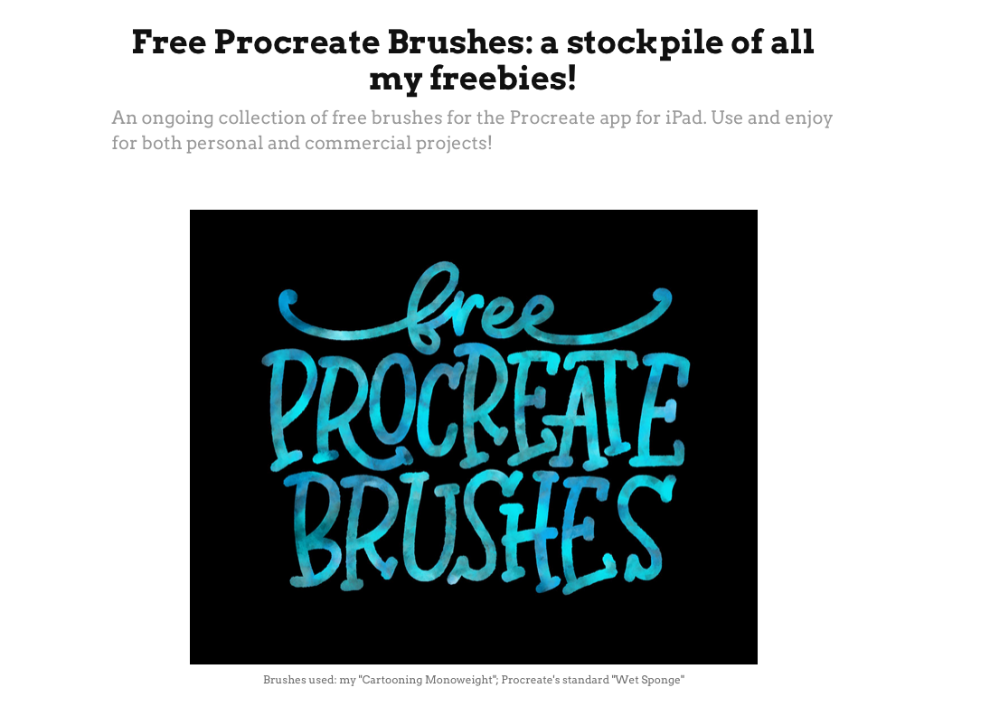 Procreate Brushes - Stockpile