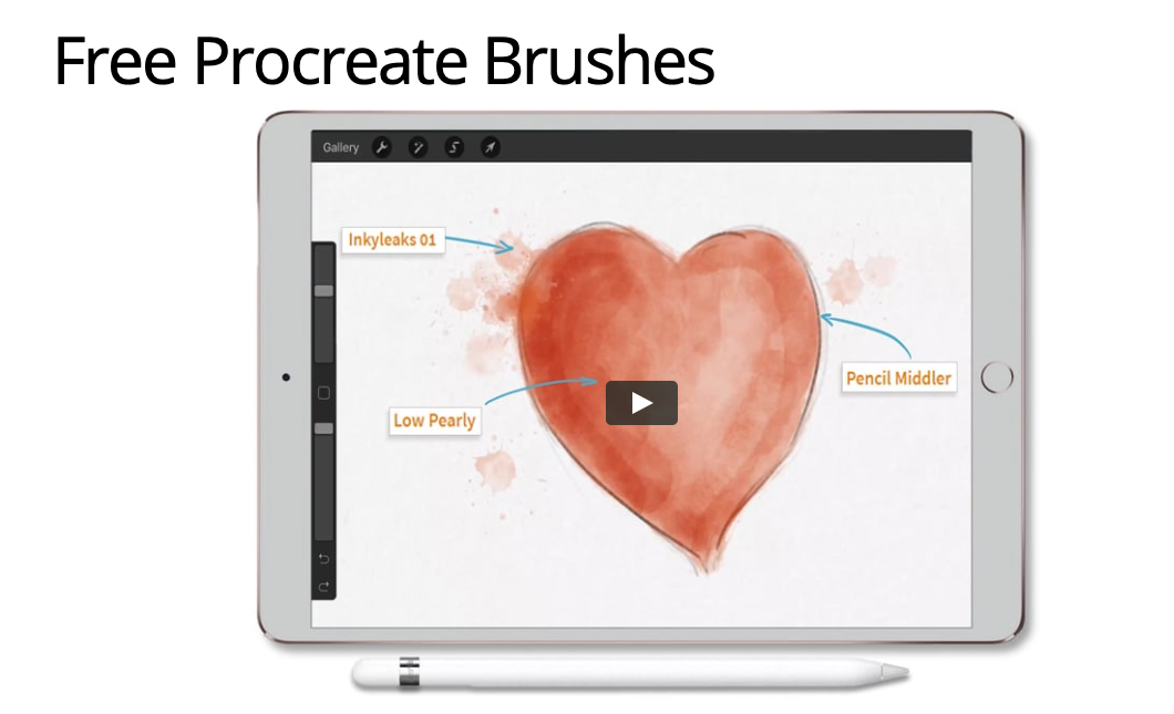 Procreate Brushes - Free