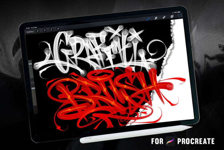 Procreate Brushes - Graffiti
