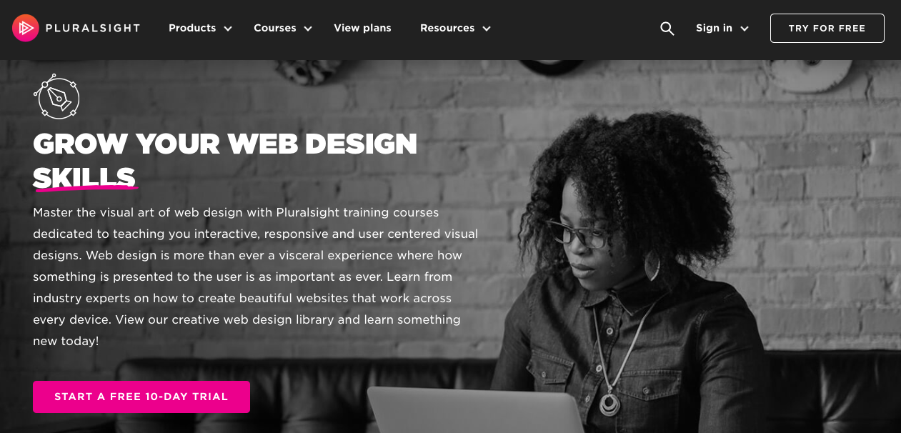 Grow Your Web Design Skills - online courses