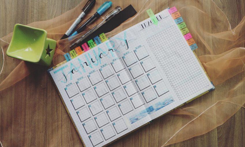 Resolutions for Web Designers - Calendar