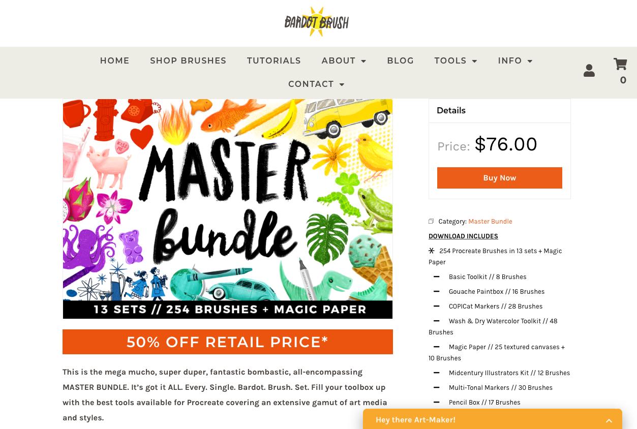 Procreate Brushes - master bundle