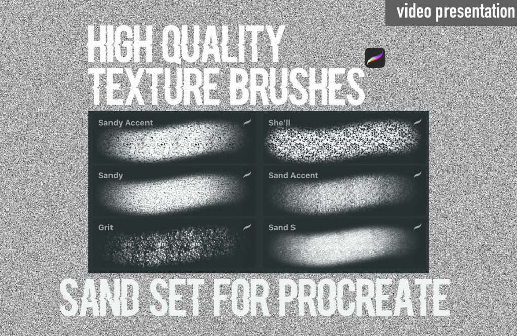 Procreate Brushes - Texture