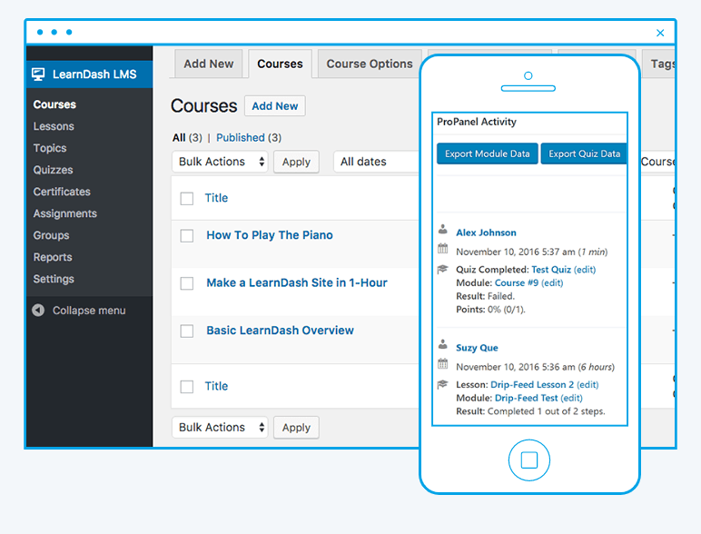 LearnDash Screenshot - LMS plugin