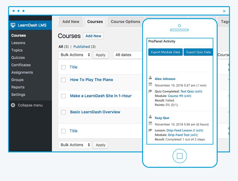 LearnDash Screenshot - LMS plugin
