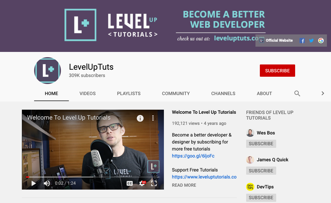 Level Up Tuts