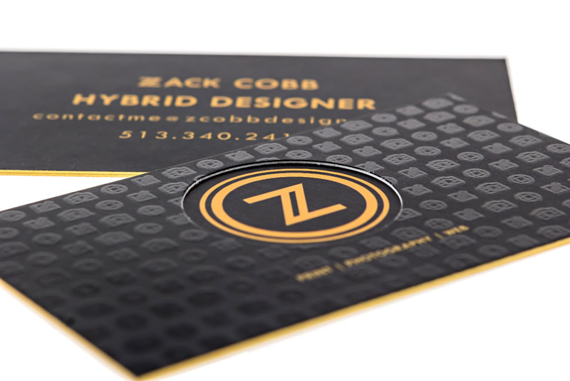 High End Business Cards - Printing Services by Print Peppermint