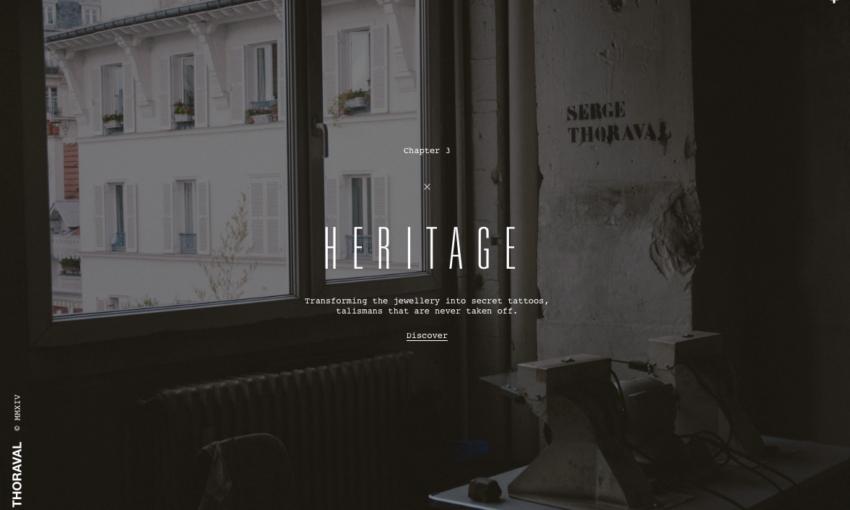 Dark Website Designs - Atelier