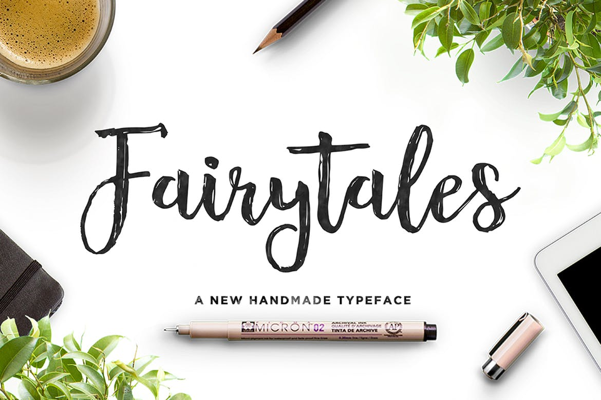 Fairytales - fonts for web