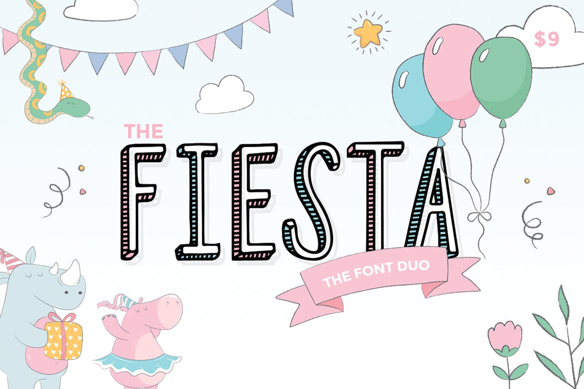 Fiesta - fonts for web