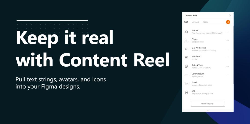 Figma Plugins - Content Reel